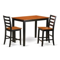 Wooden Importers Yarmouth 3 Piece Counter Height Pub Table ...