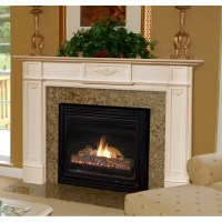 "Pearl Mantels 56"" Monticello Fireplace Mantel Surround ..."