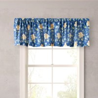 "Laura Ashley Home Emilie 86"" Curtain Valance & Reviews ..."