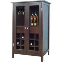 Jenlea 12 Bottle Floor Wine Cabinet & Reviews | Wayfair