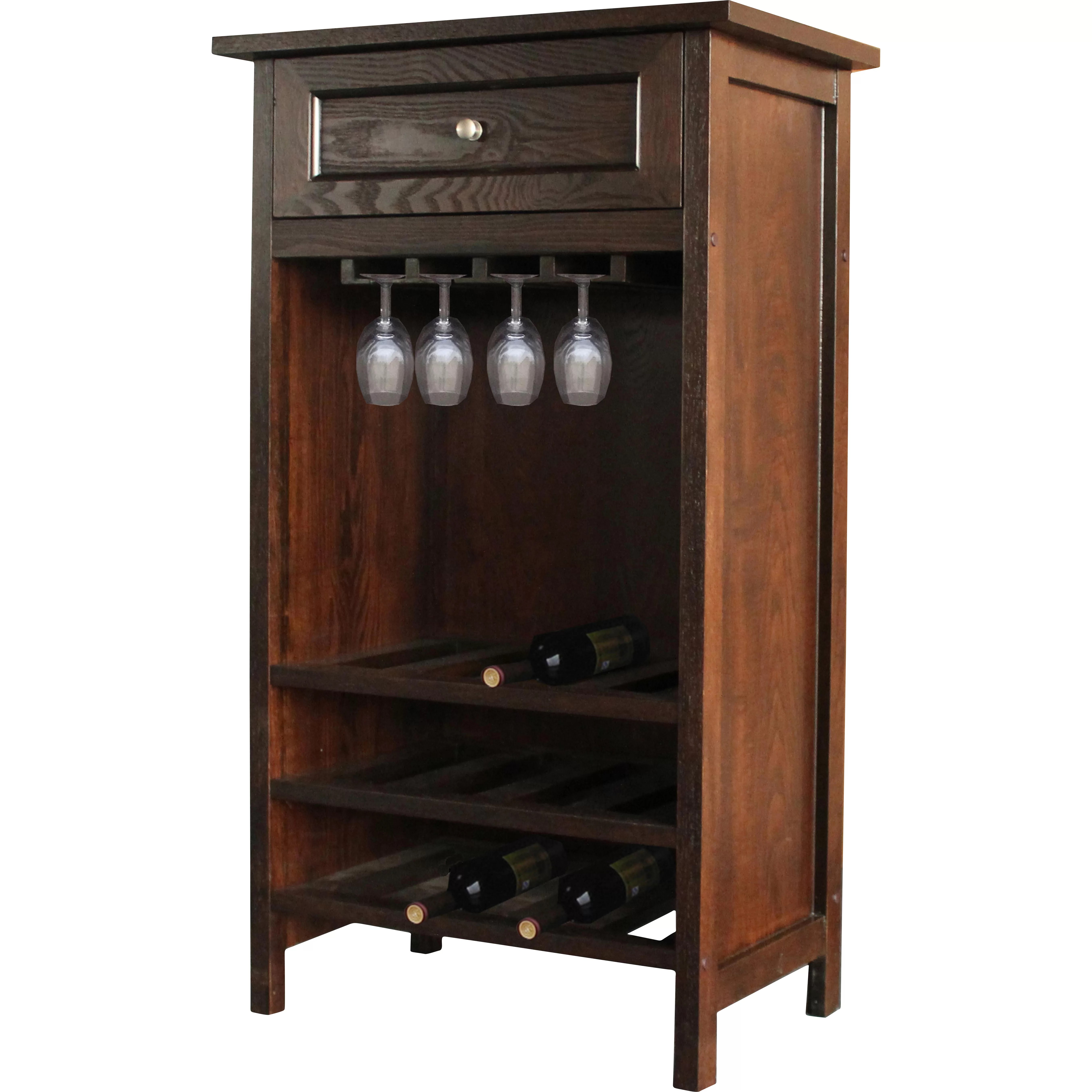 In Floor Wine Storage Jenlea 12 Bottle Floor Wine Rack And Reviews Wayfair