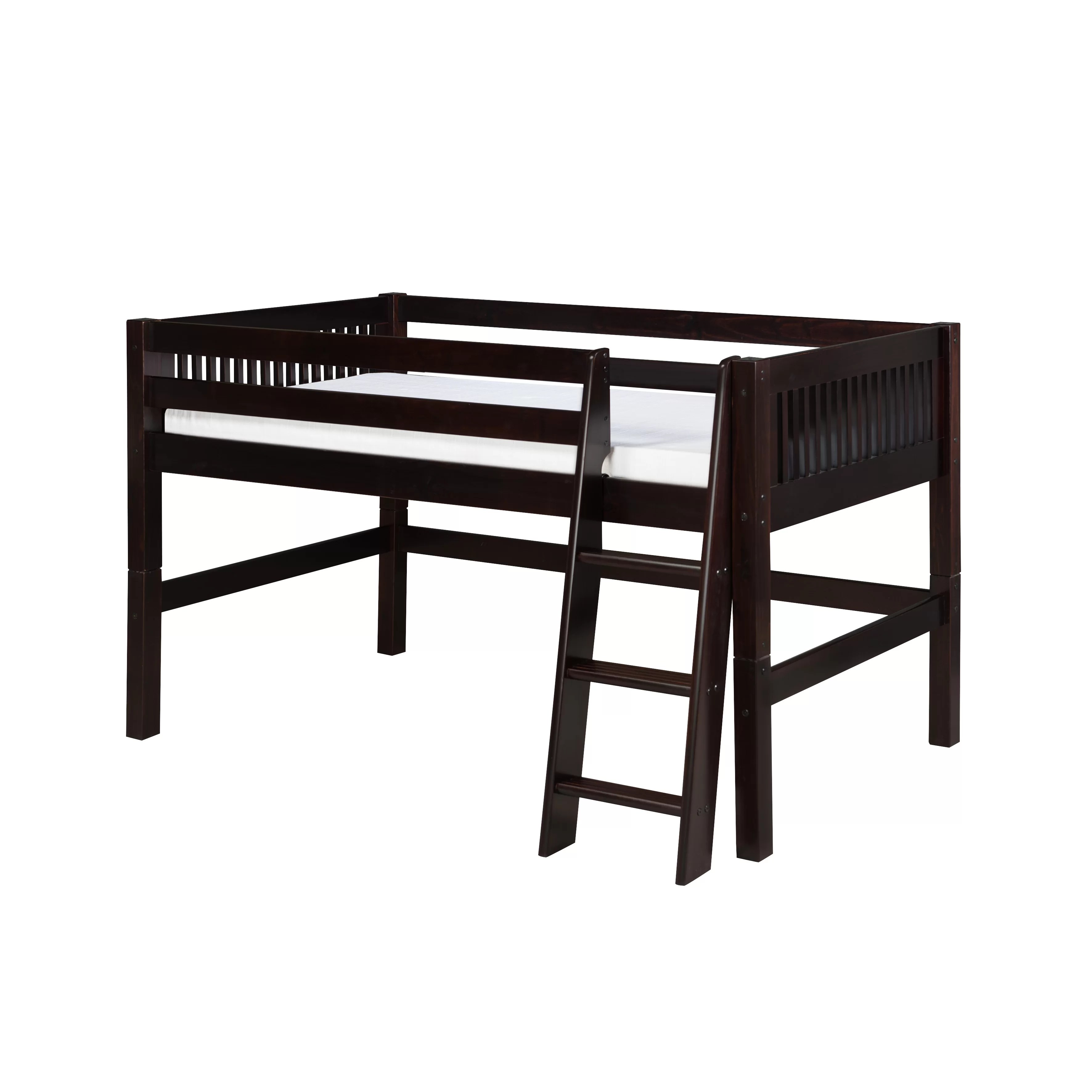 Camaflexi Twin Low Loft Bed Reviews Wayfair