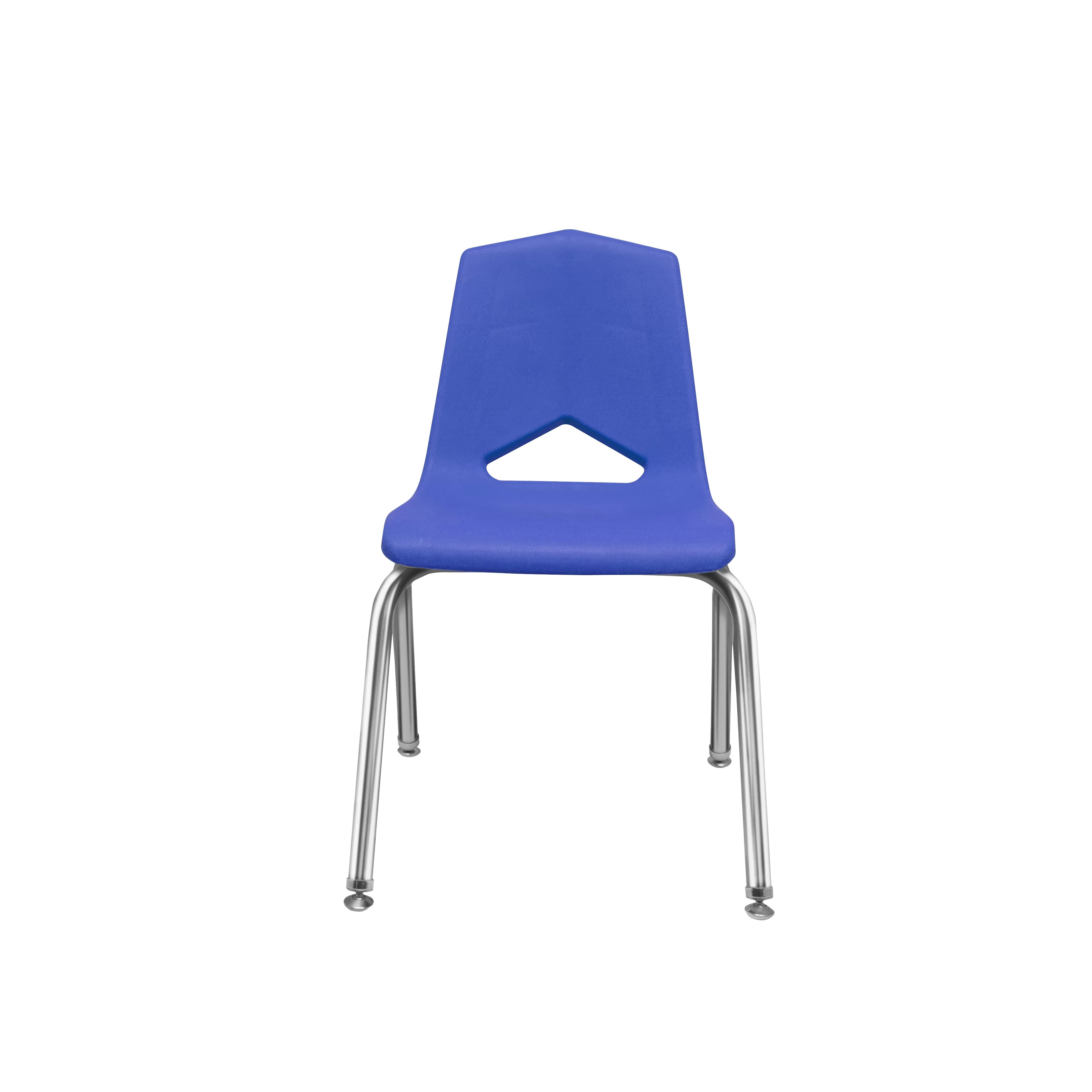 Plastic Stackable Classroom Chair 4 Legged P6 Plastic Chairs