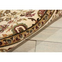 Kathy Ireland Home Gallery Antiquities Beige Area Rug ...