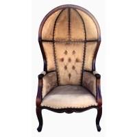 D-Art Collection Louis Dome Balloon Arm Chair   Wayfair