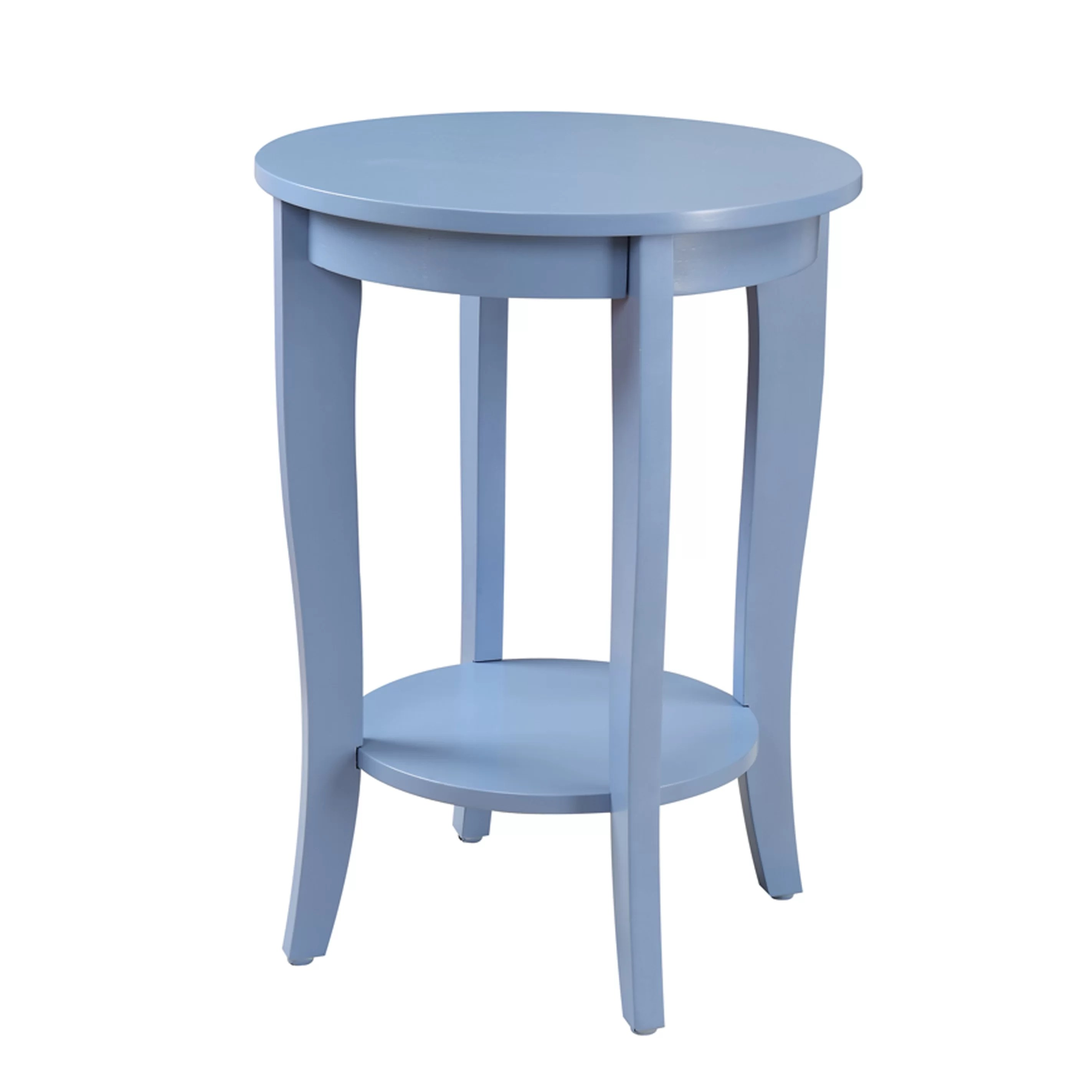 Circular End Tables Convenience Concepts American Heritage Round End Table