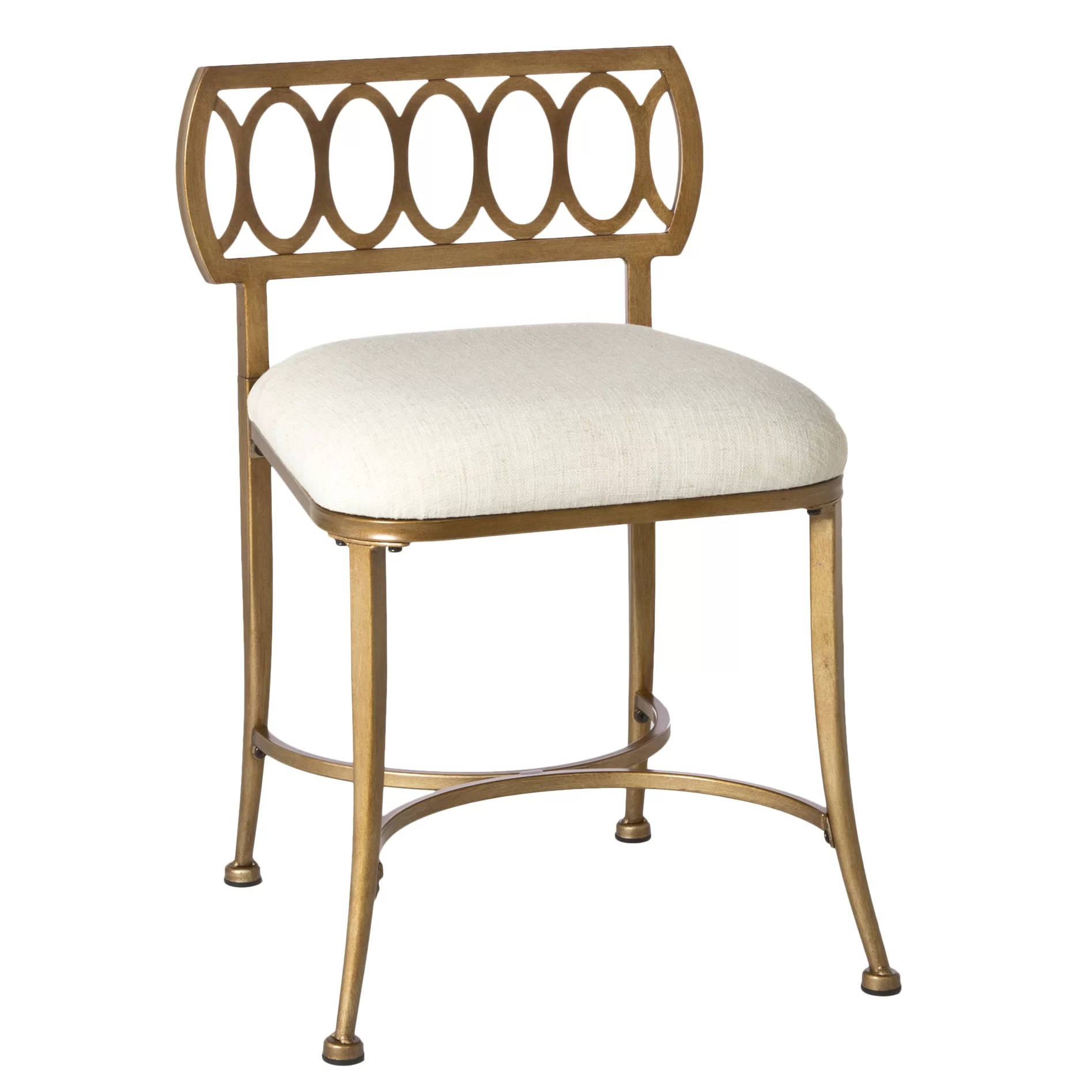 Vanity Stools Or Benches House Of Hampton Adira Vanity Stool And Reviews Wayfair