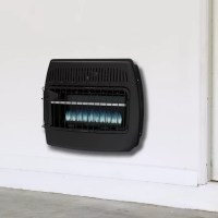 Dyna-Glo 30,000 BTU Wall Mounted Dual Fuel T-Stat Vent ...