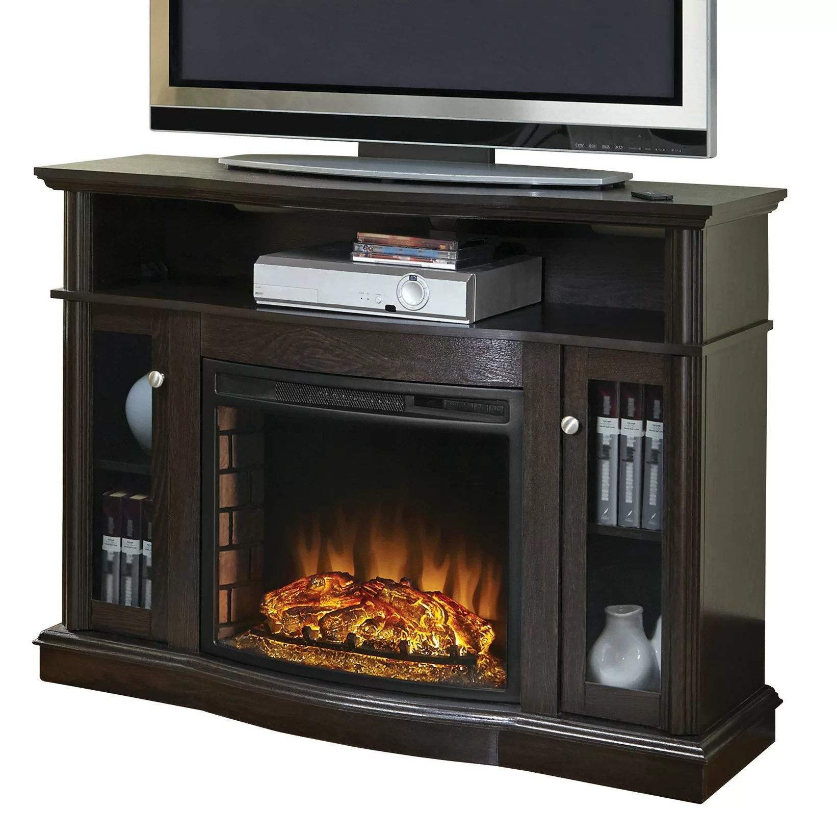 Pleasant Hearth Media Electric Fireplace & Reviews