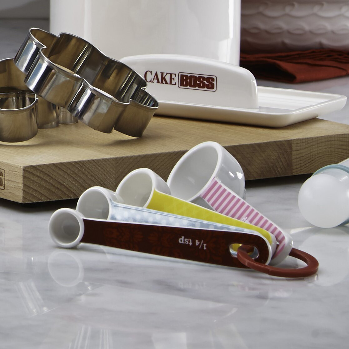 Countertop Measuring Tool Cake Boss 4 Piece Countertop Accessories Melamine