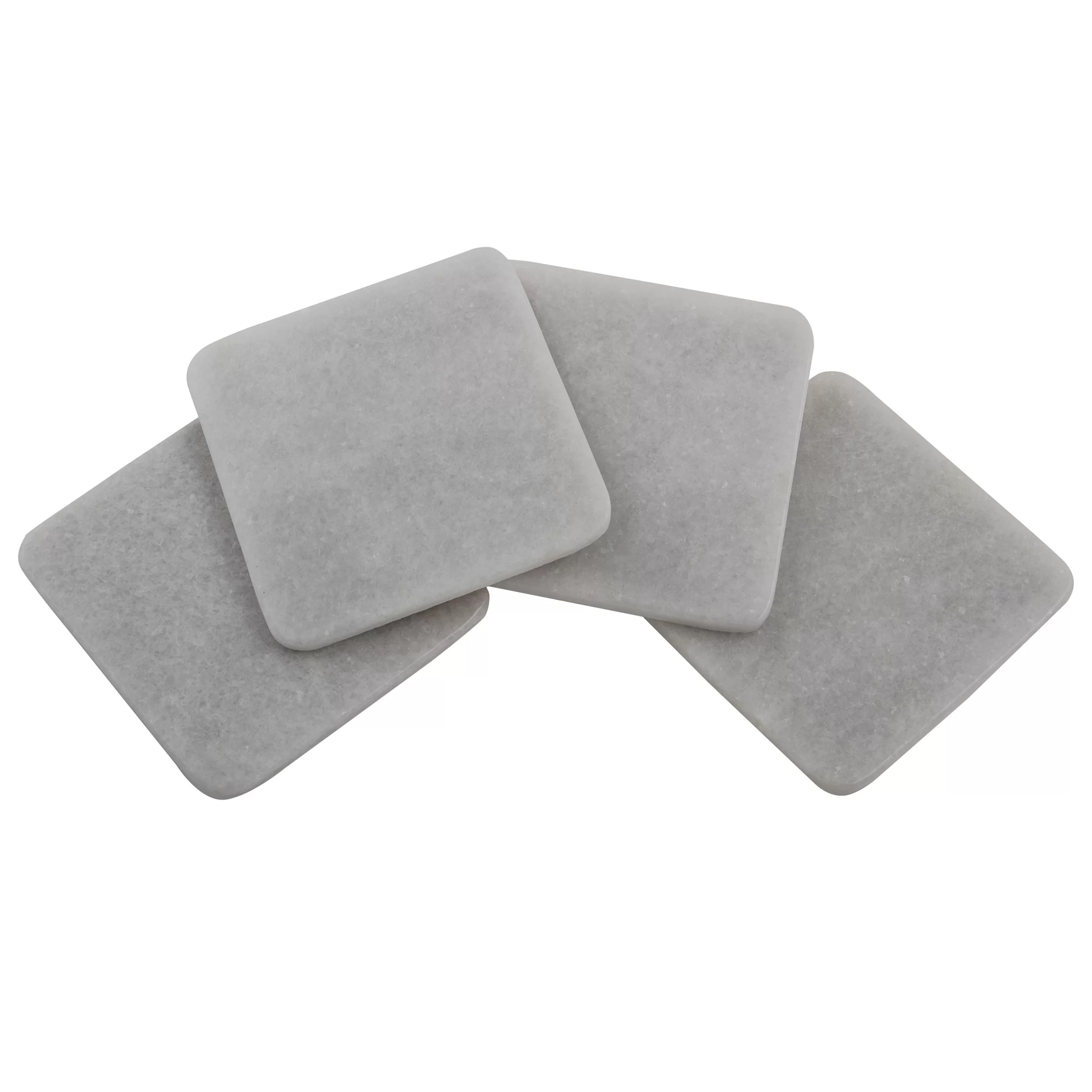 Square Coasters For Drinks Thirstystone Square Marble Coasters And Reviews Wayfair