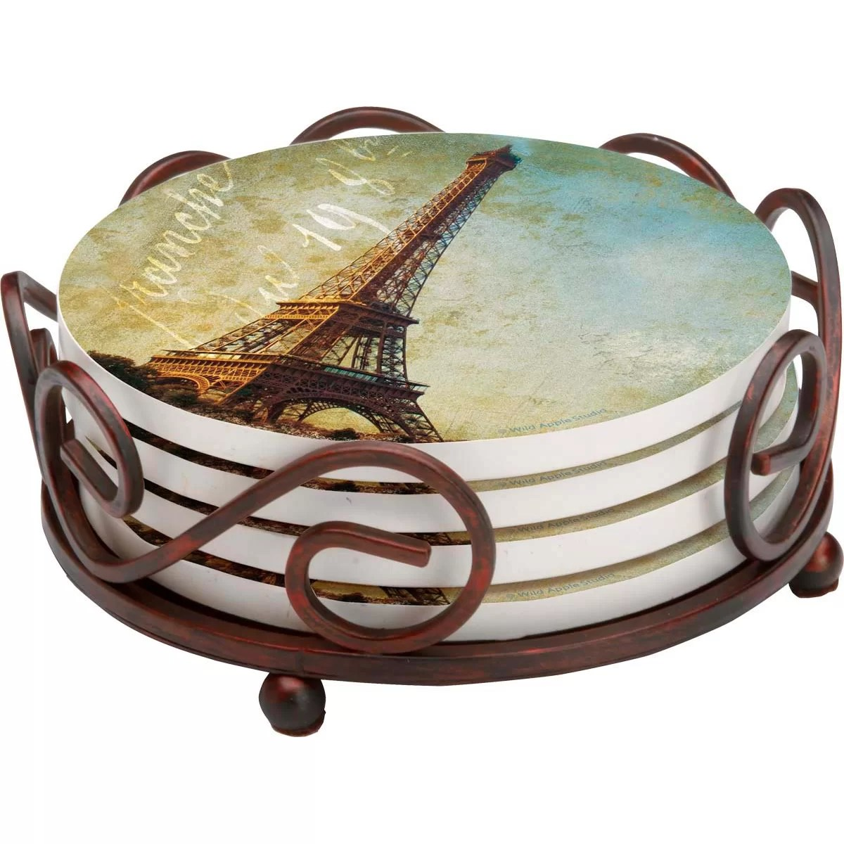 Drink Coasters Amazon Thirstystone 5 Piece Golden Age Of Paris Collegiate