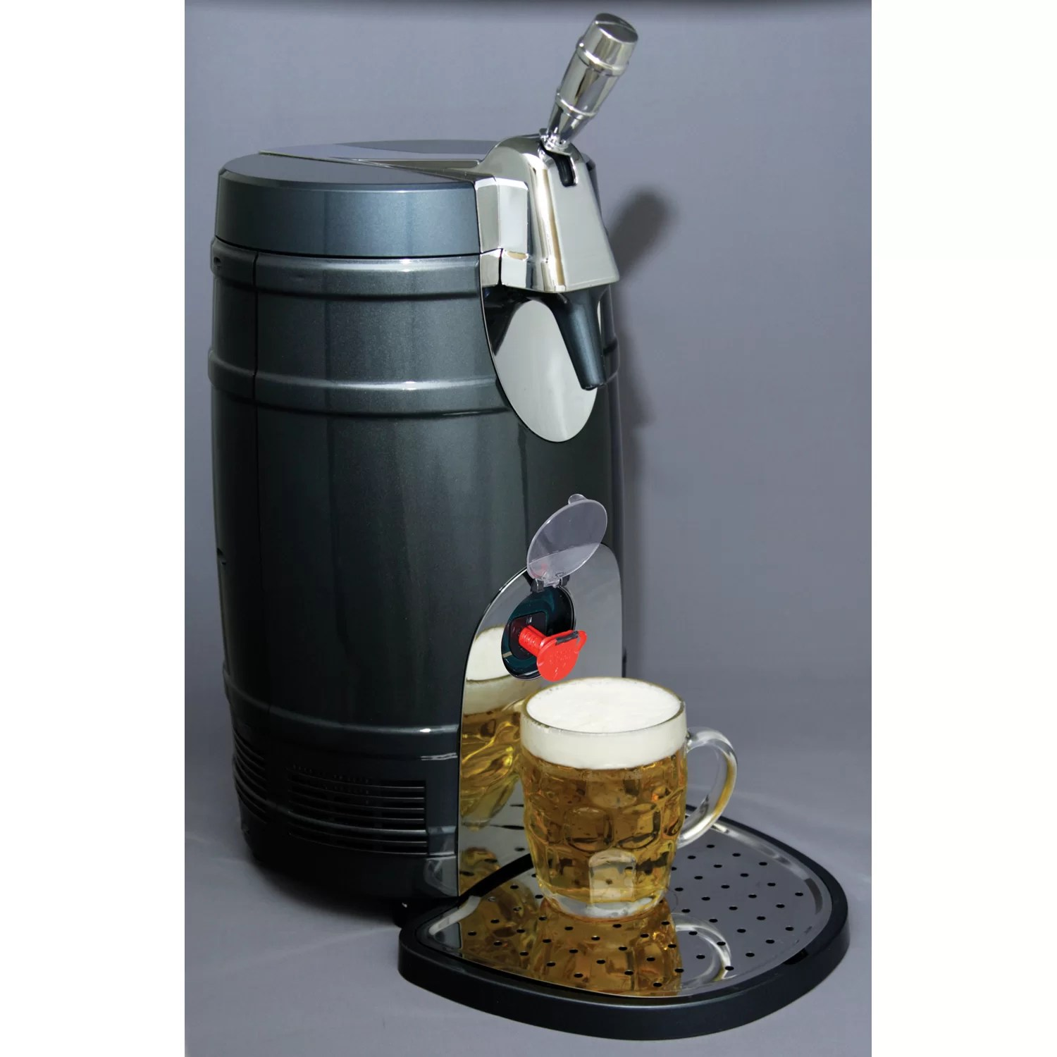 Countertop Beer Cooler And Tap Koolatron Single Tap Mini Keg Freestanding Beer Dispenser