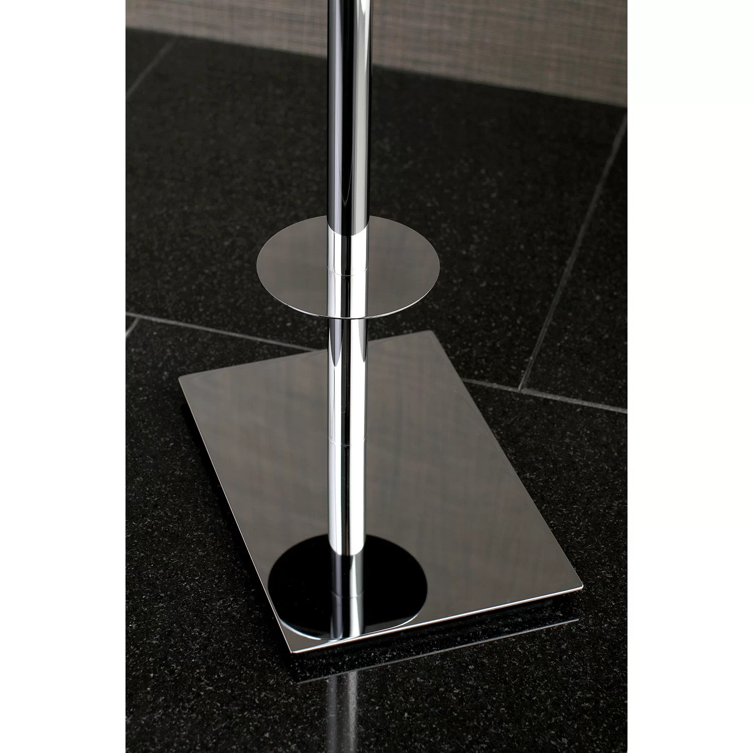 Free Standing Toilet Paper Holder Kingston Brass Claremont Freestanding Toilet Paper Holder