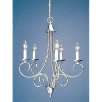 Volume Lighting Rhodes 5 Light Candle Chandelier & Reviews ...
