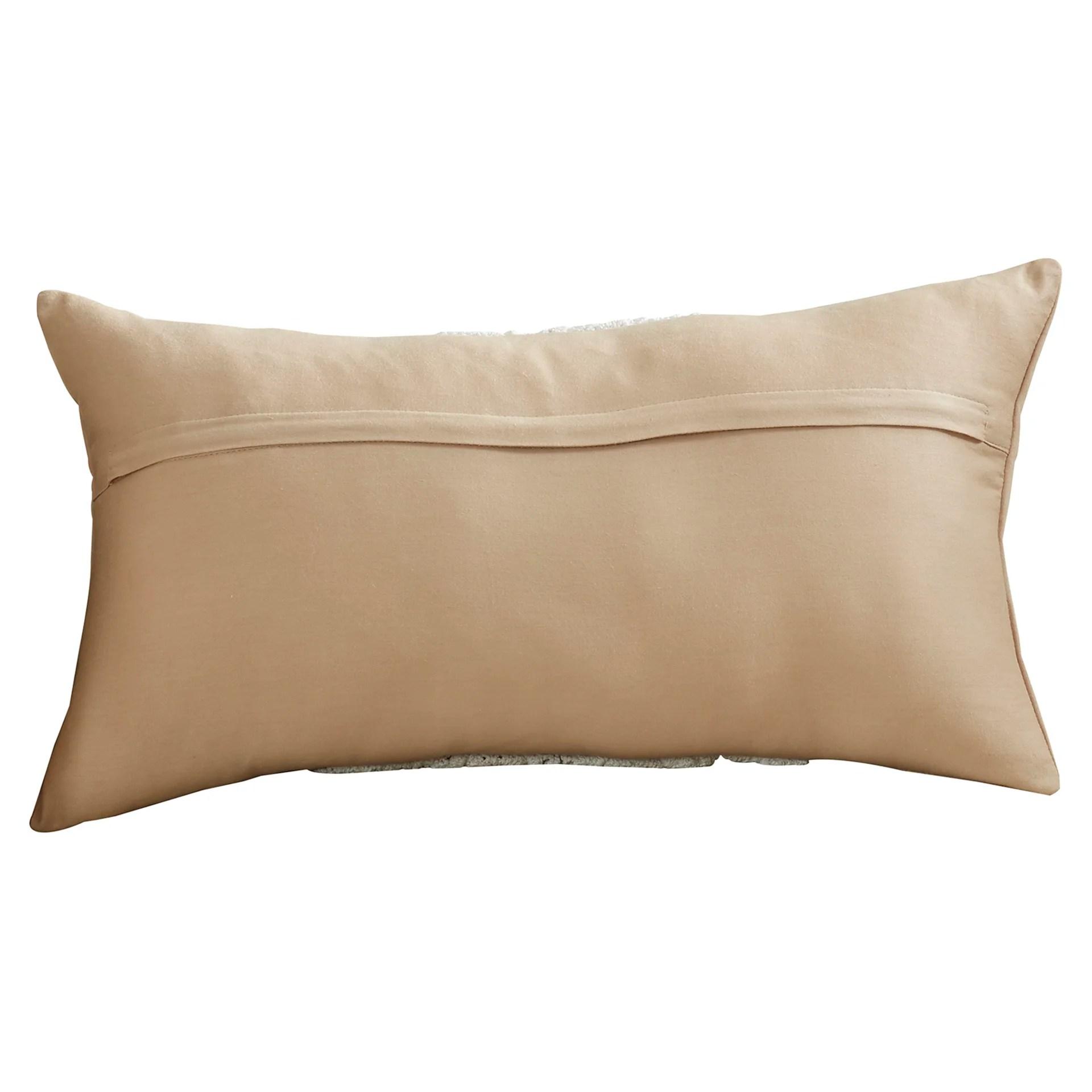 Lark Manor Chene Cotton Lumbar Pillow & Reviews
