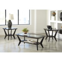 Signature Design by Ashley 3 Piece Coffee Table Set in ...