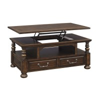 Signature Design by Ashley Coffee Table with Lift Top ...
