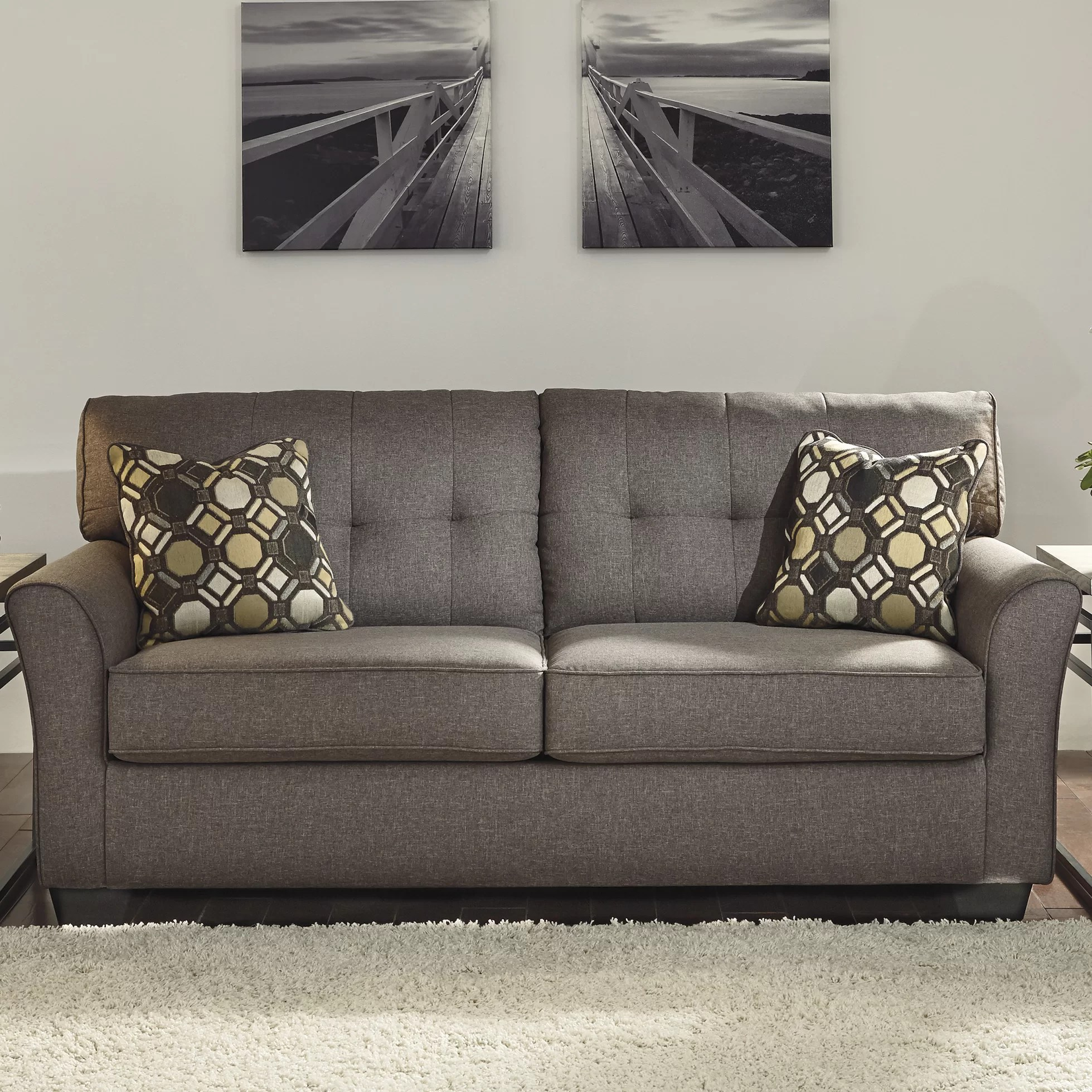 Ashley Signature Design Sofa Signature Design By Ashley Tibbee Sofa & Reviews | Wayfair