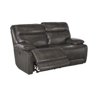 Signature Design by Ashley Leather Reclining Loveseat ...