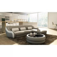 Hokku Designs Addison Leather Sectional | Wayfair