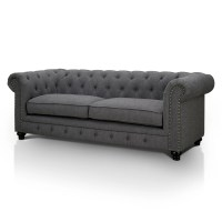 "Hokku Designs Cedric 90"" Chesterfield Sofa & Reviews 
