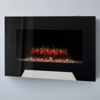 CorLiving Wall Mount Electric Fireplace & Reviews