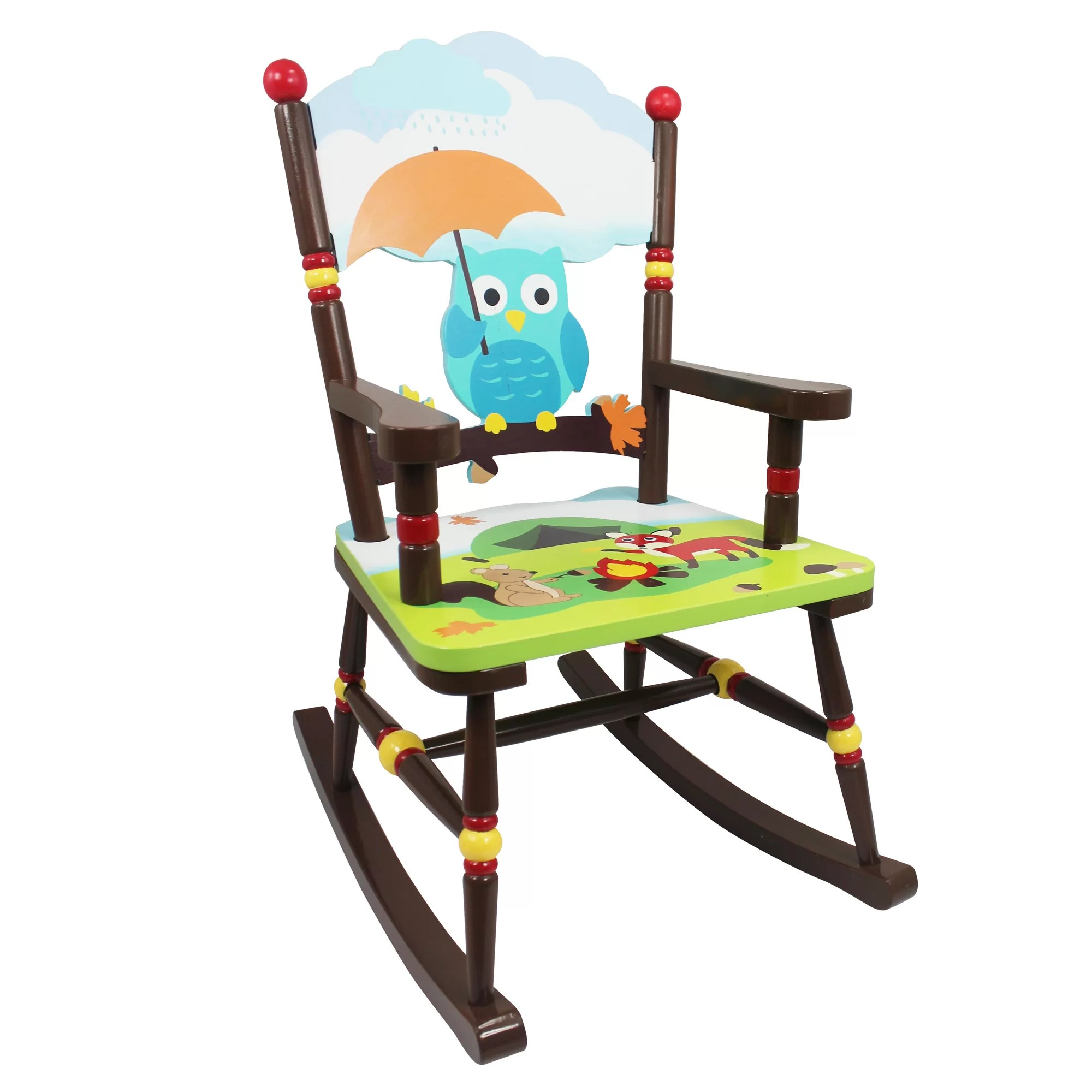 Rocking Chair Question Fantasy Fields Enchanted Woodland Kids Rocking Chair