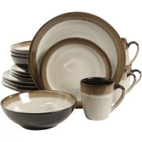 Gibson Couture Bands 16 Piece Dinnerware Set & Reviews ...