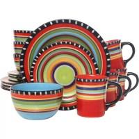 Gibson Pueblo Springs 16 Piece Dinnerware Set & Reviews ...