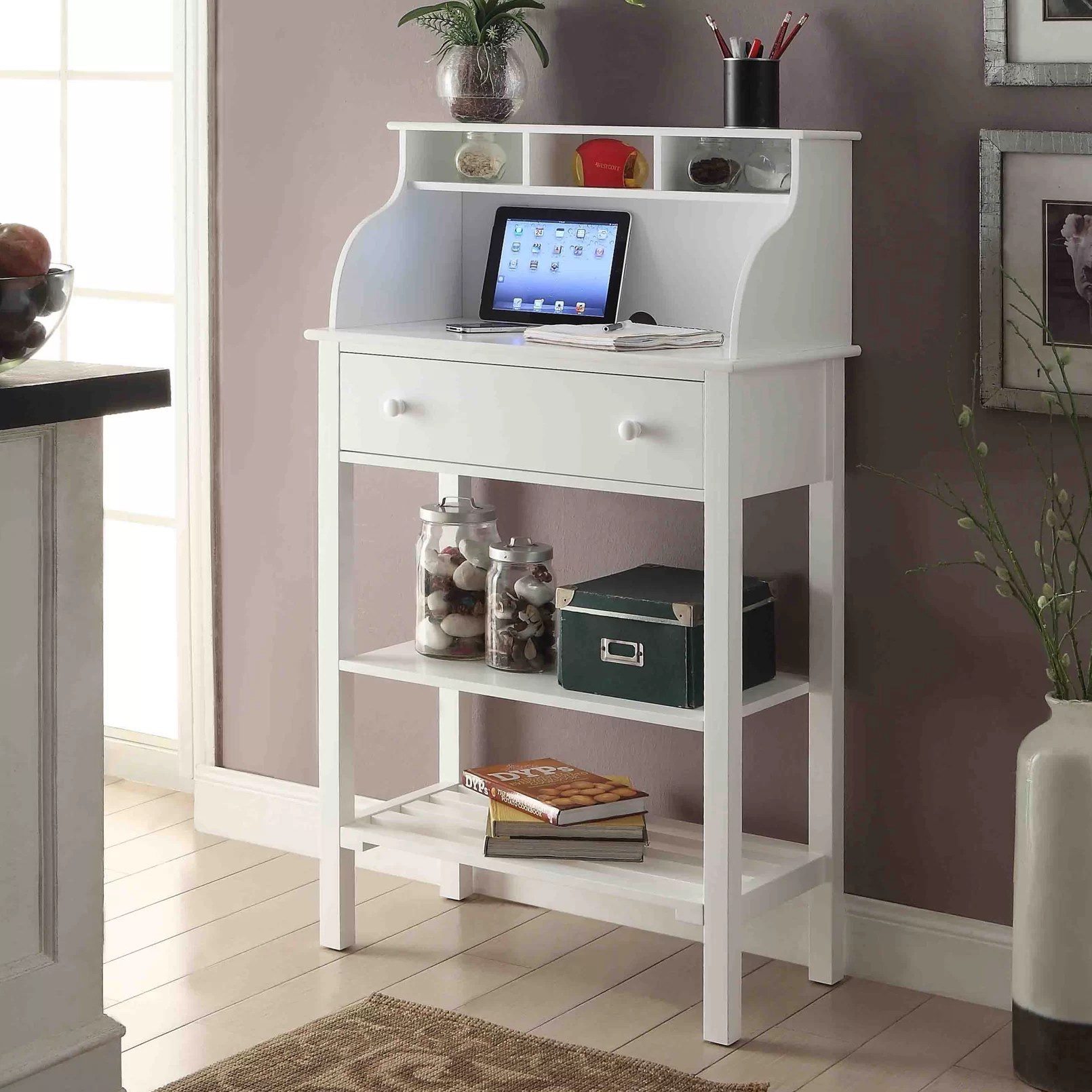 Campbelltown Furniture Andover Mills Campbelltown Secretary Desk And Reviews Wayfair