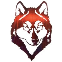 Lazart Wolf Wall Decor | Wayfair