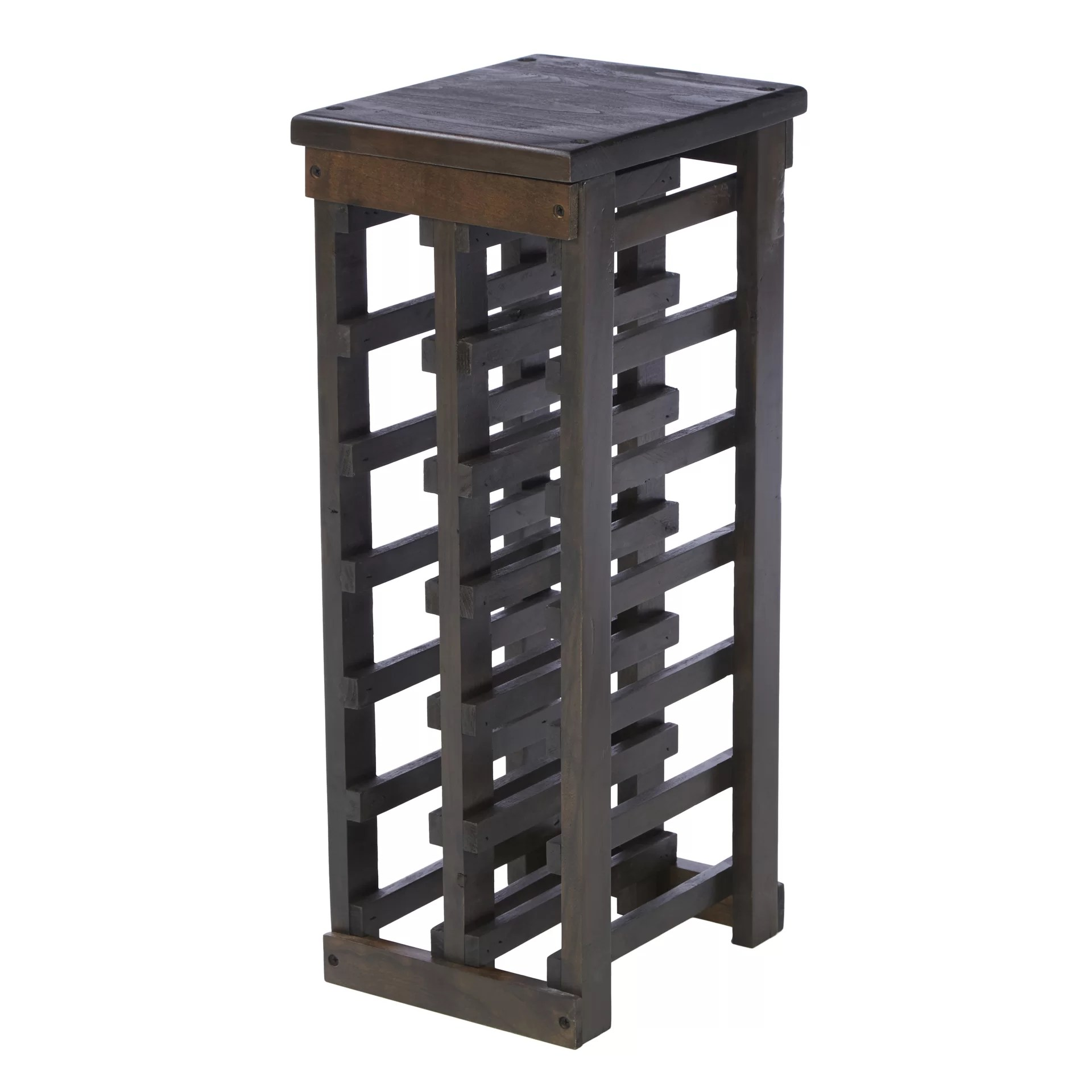 In Floor Wine Storage Three Posts Dalmatia 12 Bottle Floor Wine Rack And Reviews