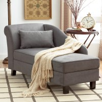 Three Posts Verona Storage Chaise Lounge & Reviews | Wayfair