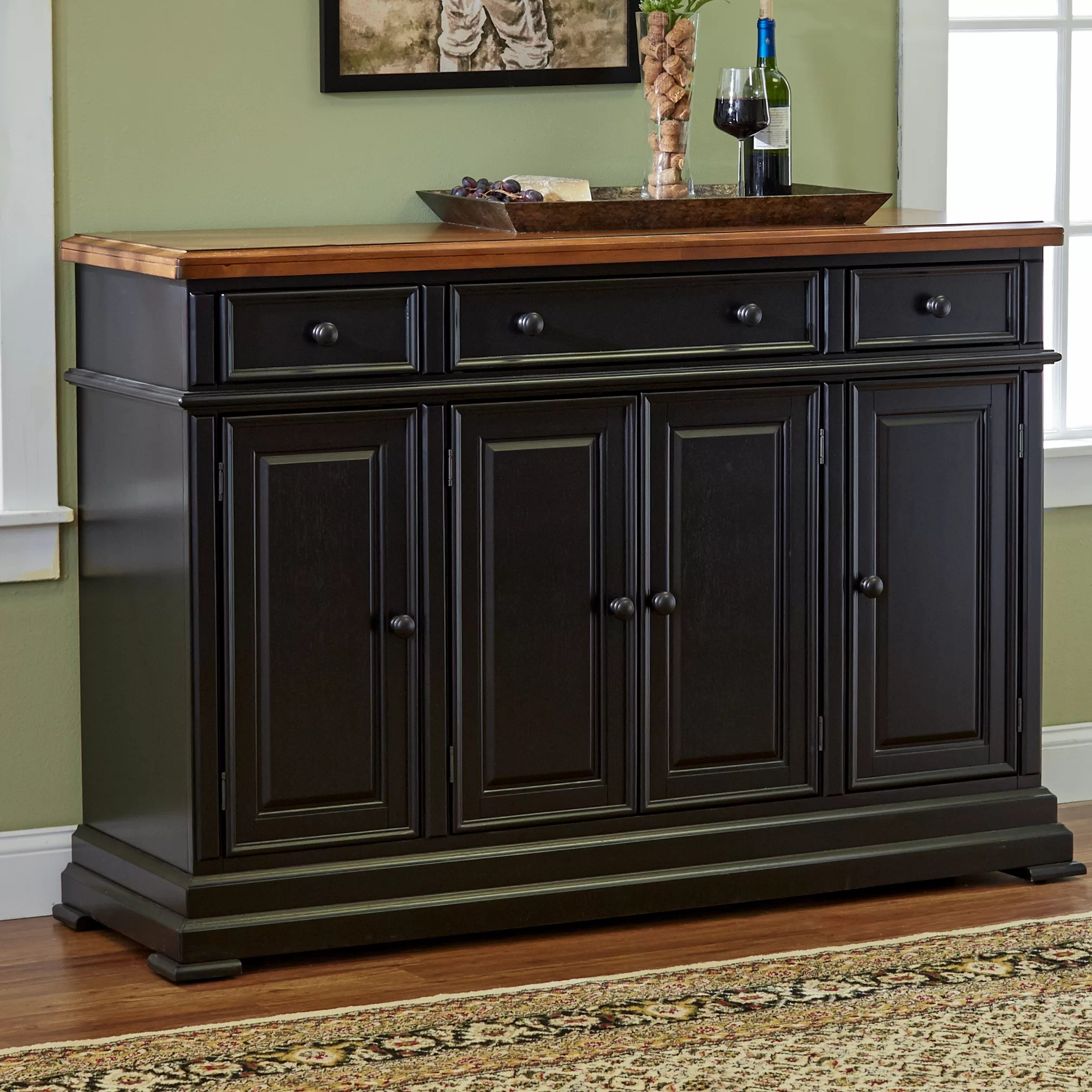 Side Board Three Posts Courtdale Sideboard And Reviews Wayfair
