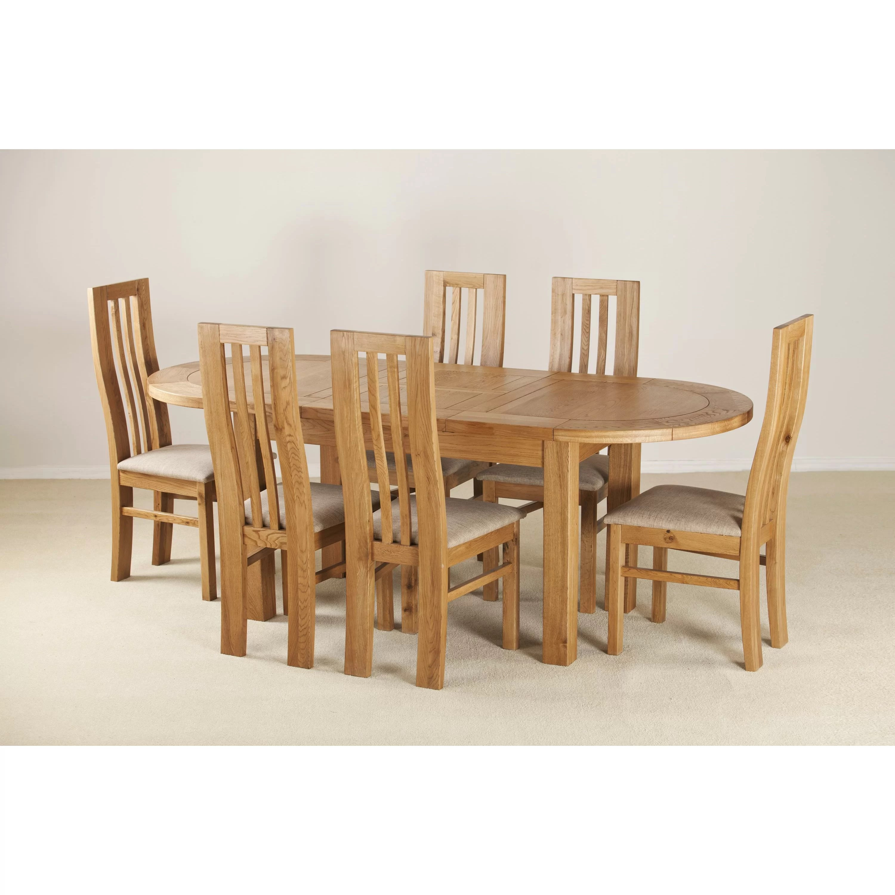 Homestead Living D End Extendable Dining Table And 6
