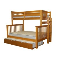 Bedz King Mission Twin over Full Bunk Bed & Reviews | Wayfair