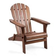 Plow & Hearth Wooden Adirondack Chair & Reviews   Wayfair