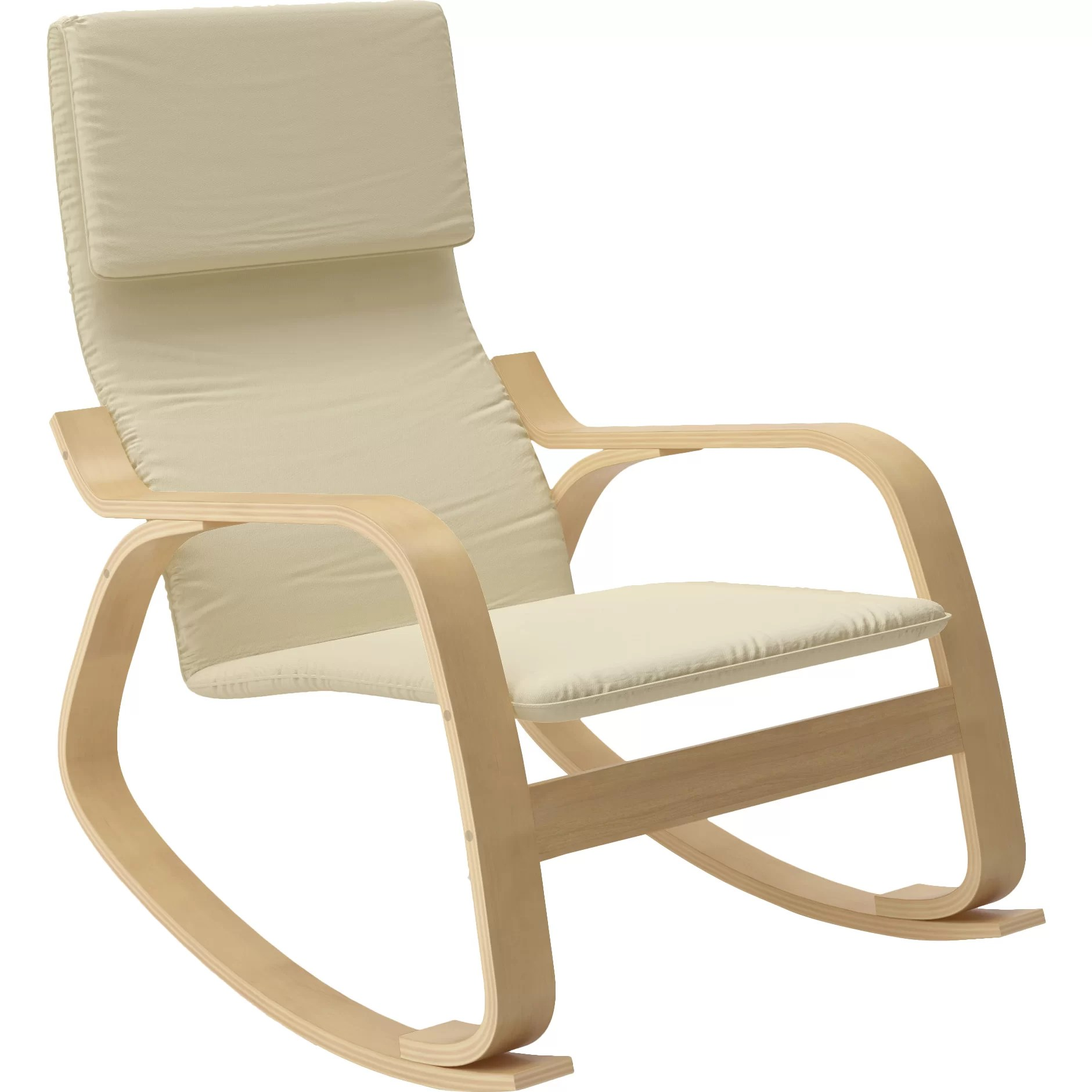 By Rocking Chair Dcor Design Aquios Rocking Chair And Reviews Wayfair