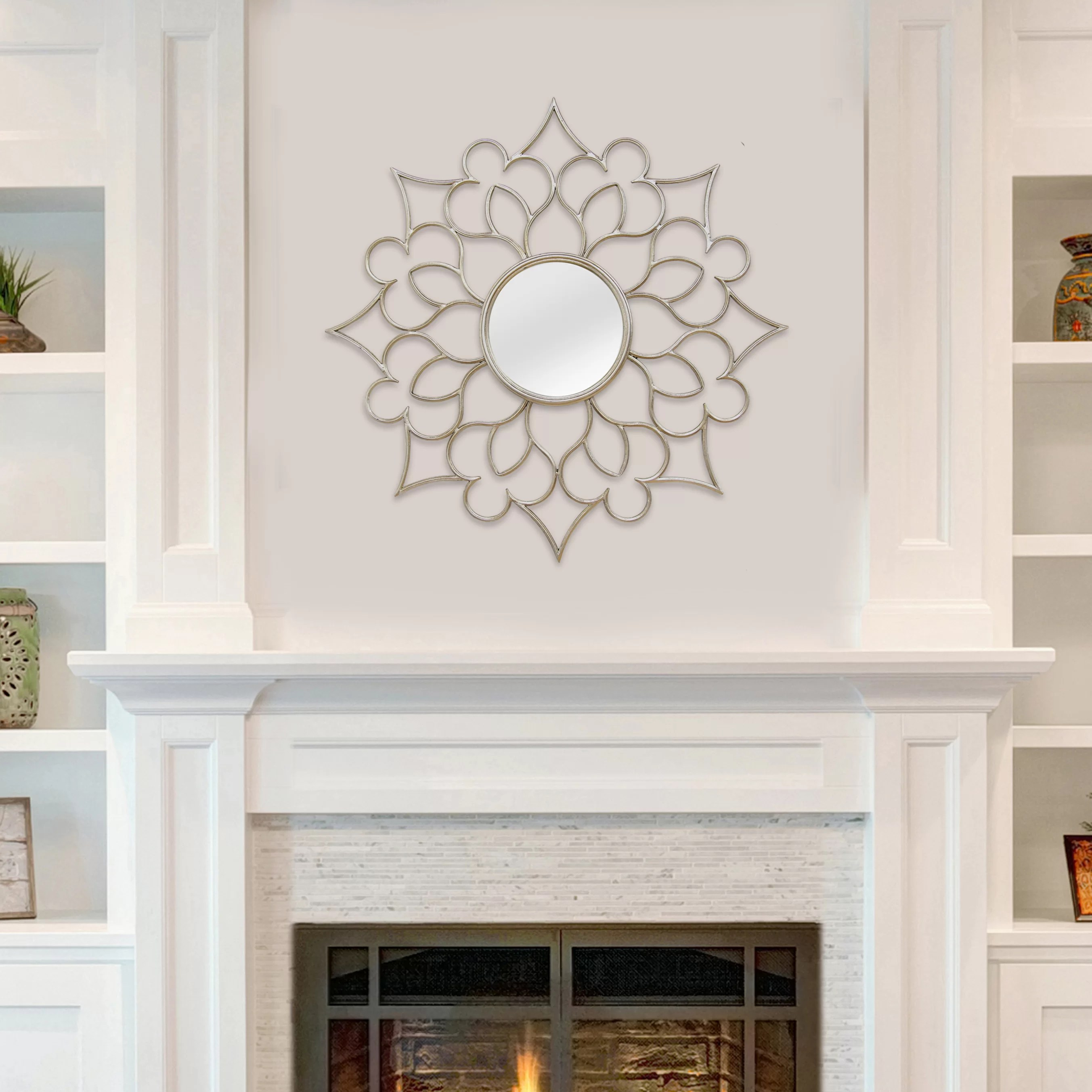 Home Interior Wall Decorations Stratton Home Decor Francesca Wall Mirror And Reviews Wayfair