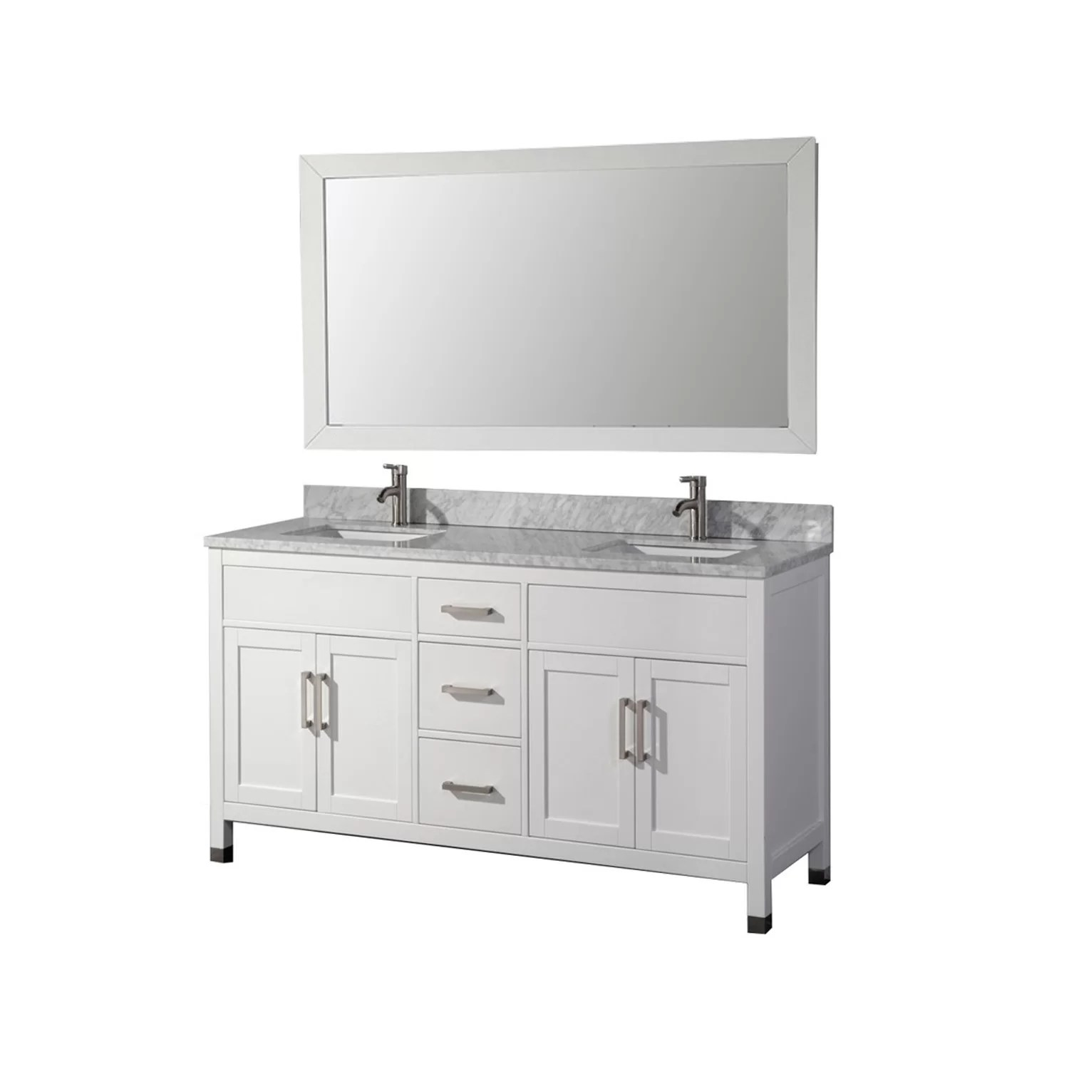 Mirrored Bathroom Vanity With Sink Mtdvanities Ricca 72 Quot Double Sink Bathroom Vanity Set With