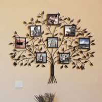 AdecoTrading 8 Opening Decorative Family Tree Wall Hanging ...