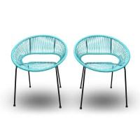 Acapulco Patio Chair. Nouveau Design PE Rotin Chaise ...