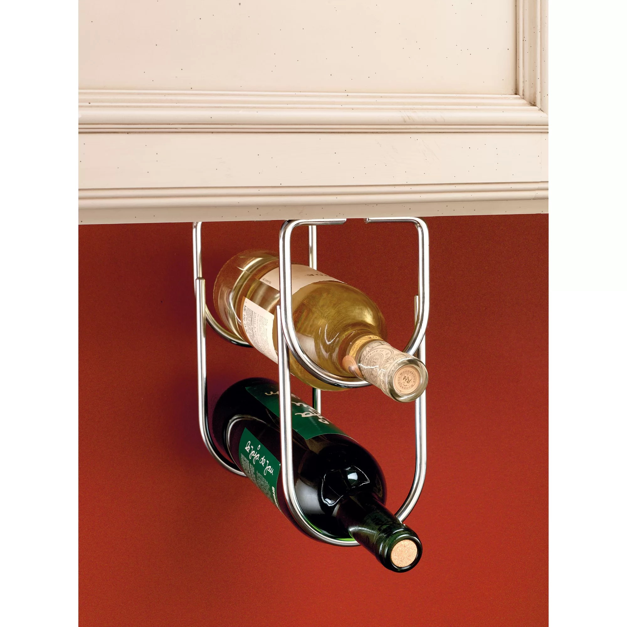 Hanging Bottle Rack Rev A Shelf 2 Bottle Hanging Wine Rack And Reviews Wayfair Ca