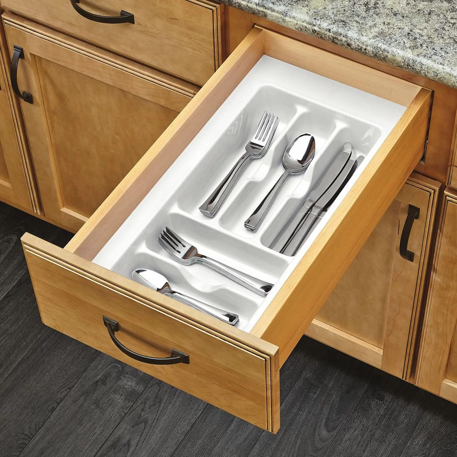 Rev A Shelf Small Cutlery Drawer Organizer Reviews Wayfair