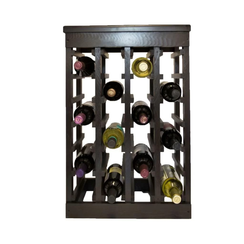 In Floor Wine Storage El Mar 24 Bottle Floor Wine Rack And Reviews Wayfair Ca