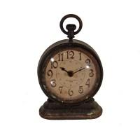 American Mercantile Metal Vintage Table Clock & Reviews ...