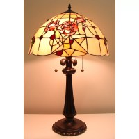 "Fine Art Lighting Tiffany 26"" Table Lamp | Wayfair"