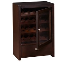 Darby Home Co Briggs 20 Bottle Floor Wine Cabinet | Wayfair