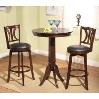 Darby Home Co Loami 3 Piece Pub Table Set & Reviews | Wayfair